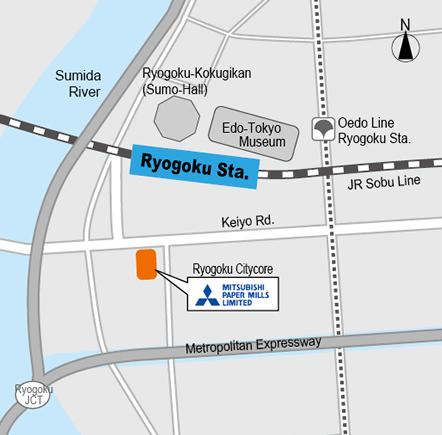 Map | Mitsubishi Paper Mills